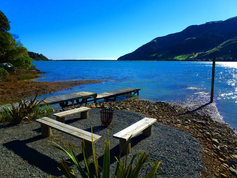 Wander down in the garden to the jetty area, light the brazier and take in the stunning views.