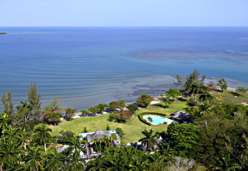 NOBLE HOUSE sits on one of the most coveted sites on Jamaica's lush north coast.