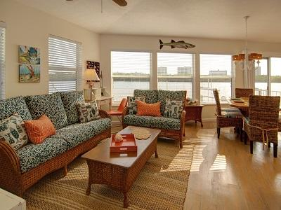 Open floor plan with water views from every window!