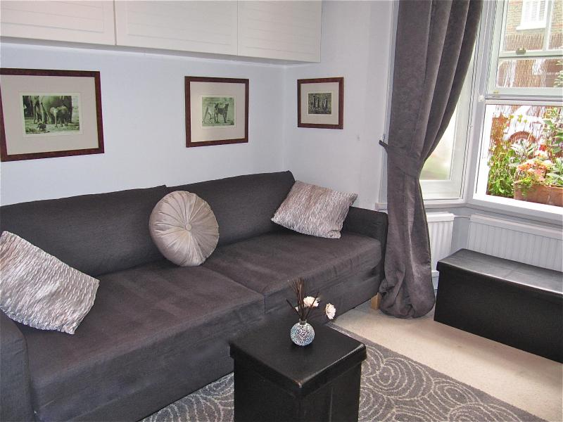 Stylish Studio sitting area - Stylish Studio + free wifi 5min walk from Thames - London - rentals
