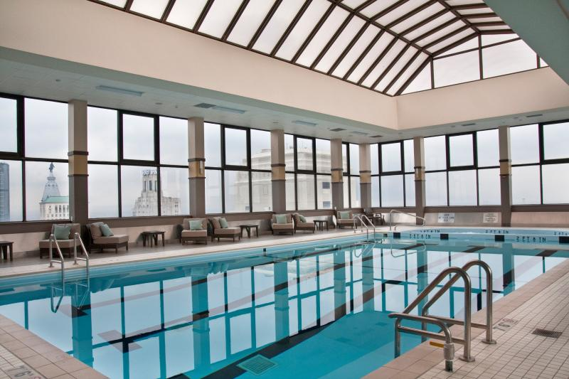 Roof Top Indoor Swimming Pool