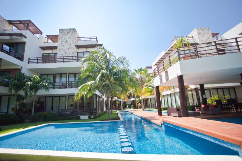 Luxury Condo on Playacar Golf Course, Caribbean Ocean Tropical - Image 1 - Playa del Carmen - rentals