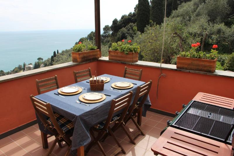 Lovely Loft with terrace  in Portofino Gulf - Image 1 - Zoagli - rentals