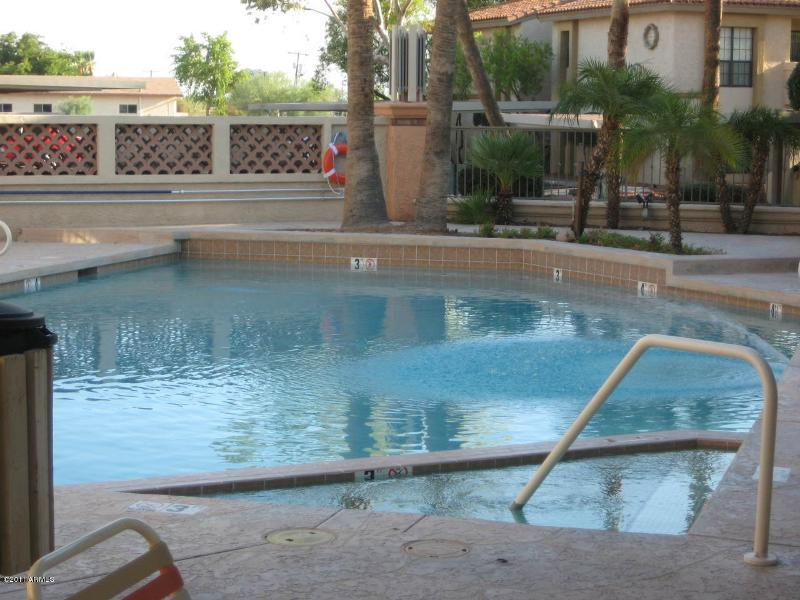 1 of 3 heated pools and spas all gated