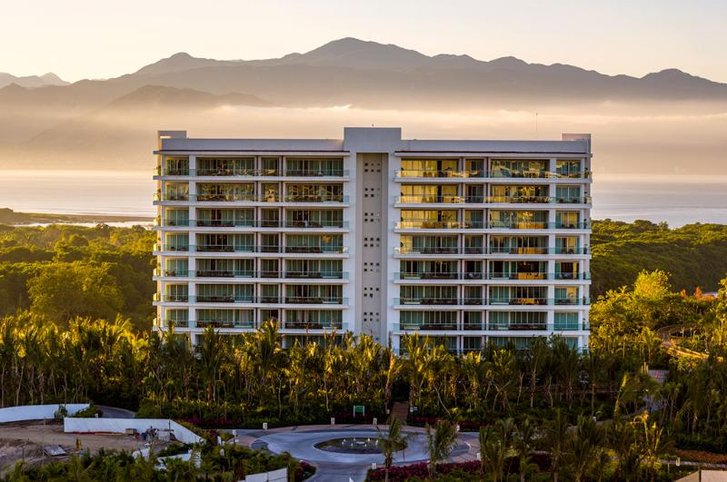 Grand Luxxe Tower II, One of Four Grand Luxxe Towers at Nuevo Vallarta, Mexico