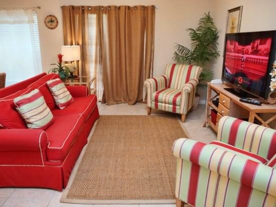 Living Area - COR4T2394CC Lavish Town Home Unit in Kissimmee - Kissimmee - rentals