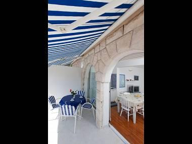 A1(4+2) : covered terrace - 8275 A1(4+2)  - Podgora - Podgora - rentals