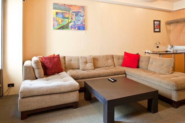 Spacious and Comfortable Living Room  - Luxury Central Park Condo-Essex House (60% Off)! - Manhattan - rentals
