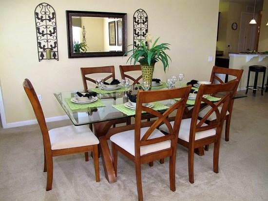 Formal Dining Area - VC3C5036SL-304 Lovely 3 Bedroom Condo in Vista Cay Overlooking a Lake - Orlando - rentals