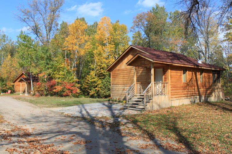 Cottage in the fall.