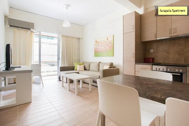 spacious living room-kitchen
