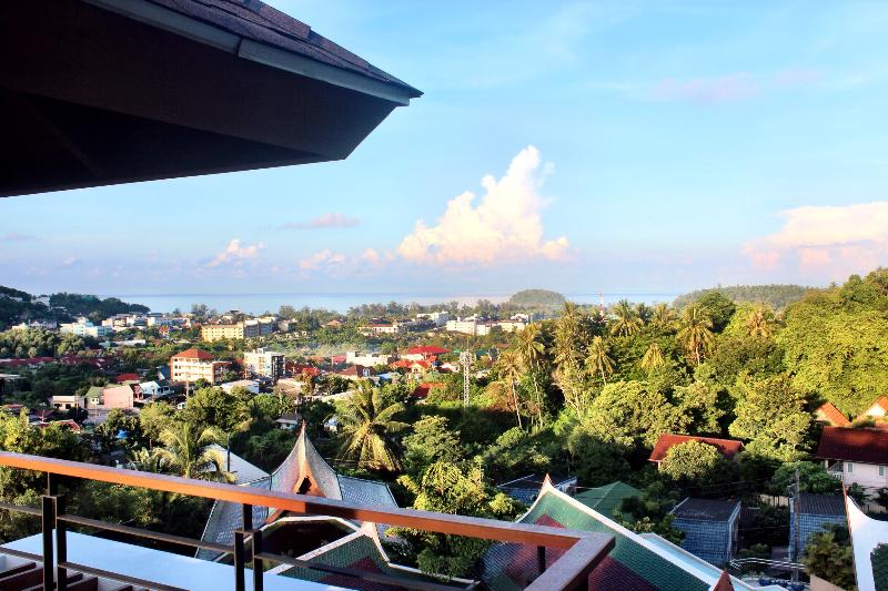 Morning sea view from roof top terrace!