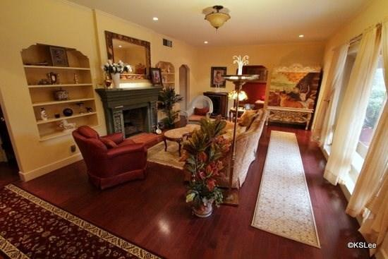 Formal living room with gas fireplace - Elegant City Retreat Come and Enjoy this Private Home at El Encanto - Tucson - rentals