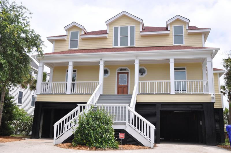 Front Exterior - Oceanfront 5 Bedroom, All New Decor w/GREAT Pool!! - Isle of Palms - rentals