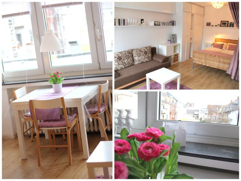 Living room, dining area and a separable sleeping niche - !! Stylish apartment in a great spot !! - Cologne - rentals