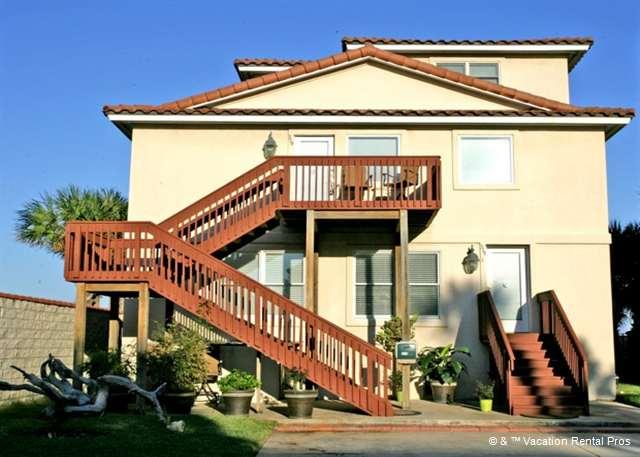Golden Star is a 3-storey house right on the beach!