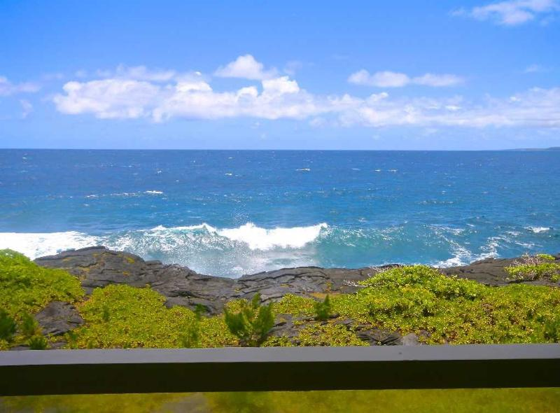 Stunning ocean views while dining or lounging from our wraparound lanai.