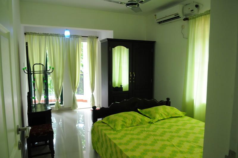 Master bed room air condition in kottayam service apartments