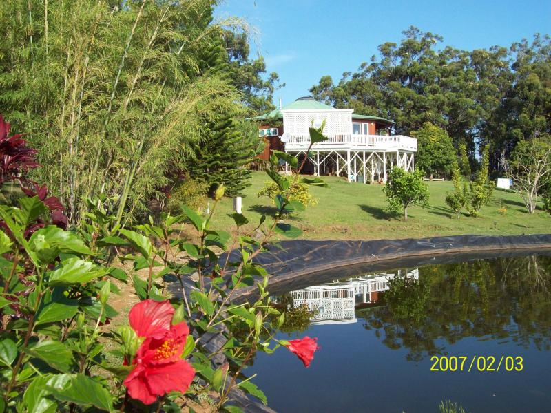 Pond and main House