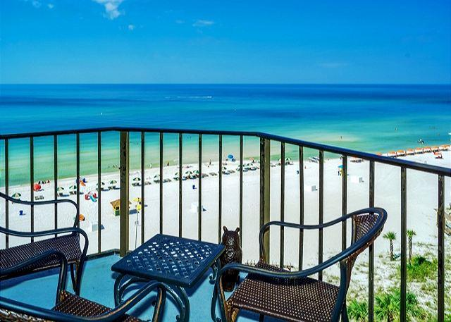 BEACH FRONT FOR 4! 9TH FLOOR WITH GREAT VIEWS! OPEN 8/2-9! TAKE 5% OFF - Image 1 - Panama City Beach - rentals