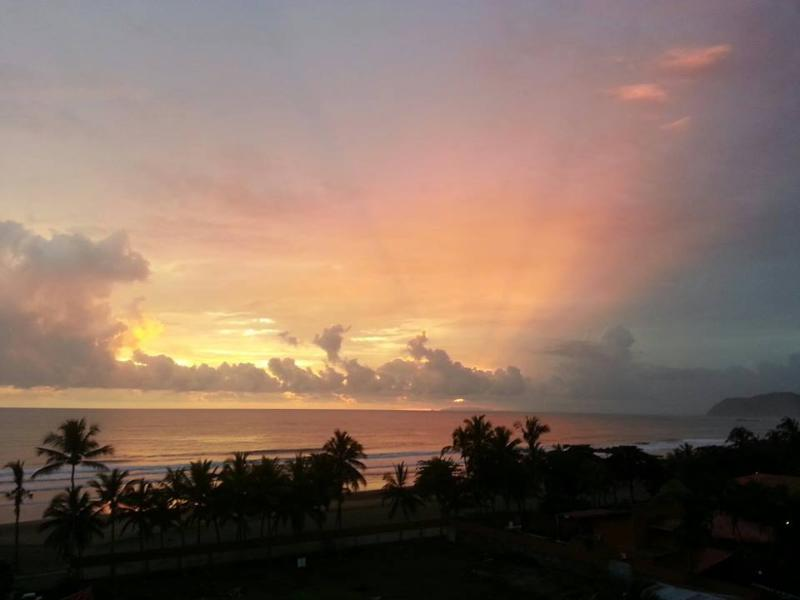 Every sunset from your Huge private balcony is different but they are all breath taking