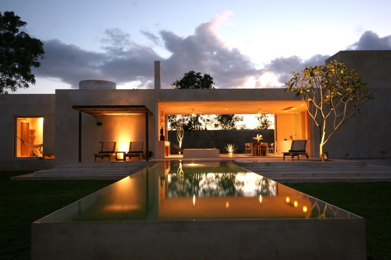 Early evening at Casa Sisal