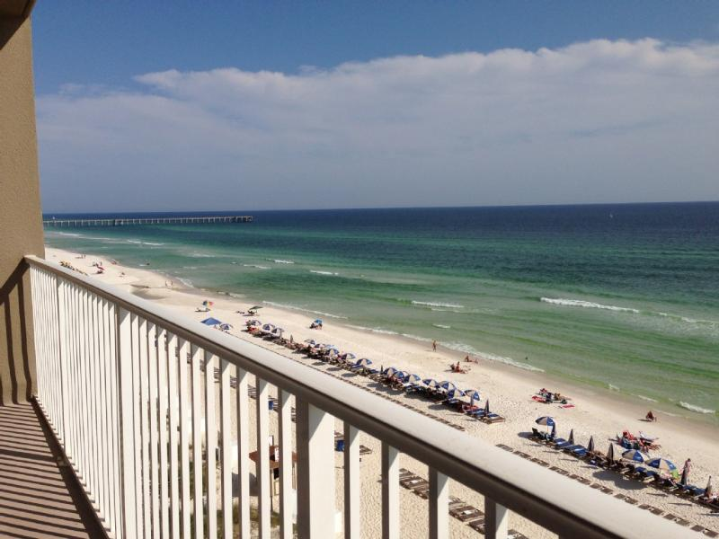 Front Ocean Front from the balcony - Low Floor Unit Next to Pier Park -Tidewater Resort - Panama City Beach - rentals