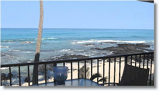 Watch the Kona sunset from your private lanai.