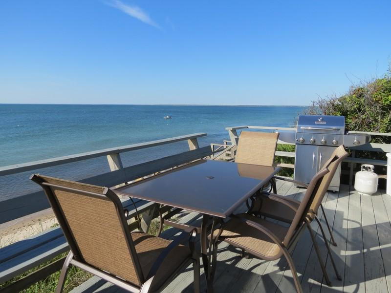 026-B - 026-B Beachfront cottage, panoramic Bay views - Brewster - rentals