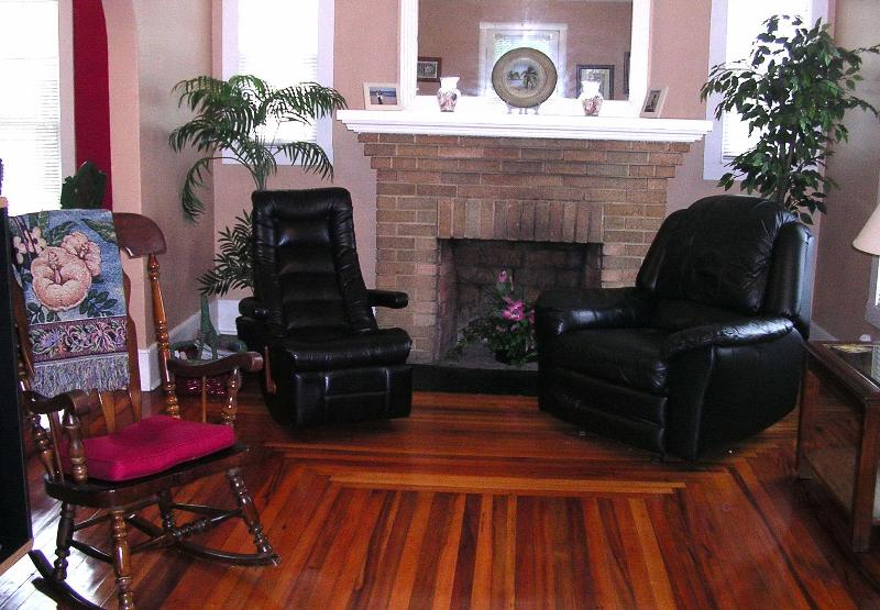 Relax on leather furniture!