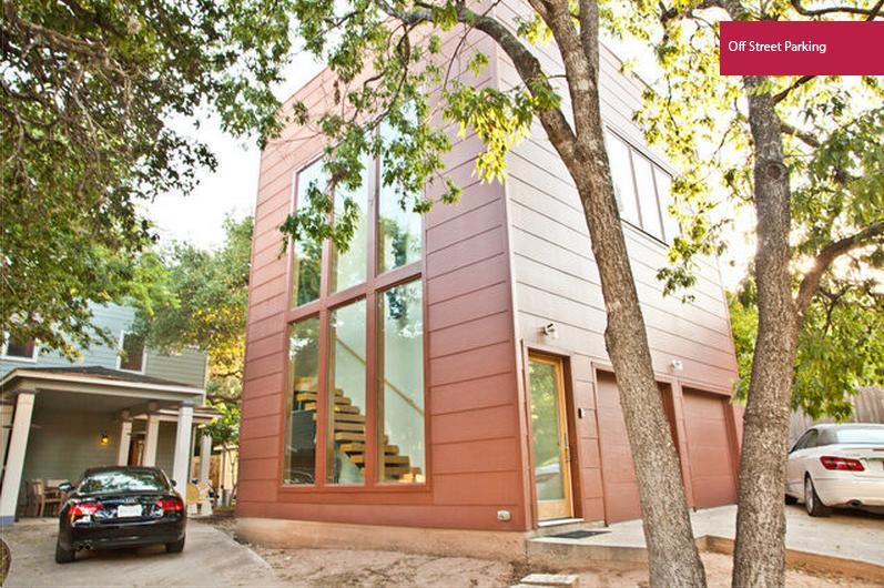 Beautiful exterior with off street parking--garage space is not included.