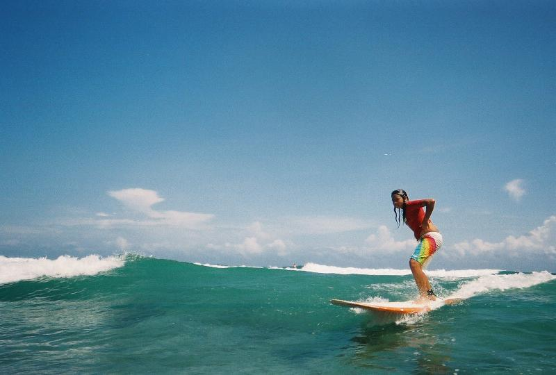 Located between Isabela and Aguadilla you can go directly to the surfing spot of the day