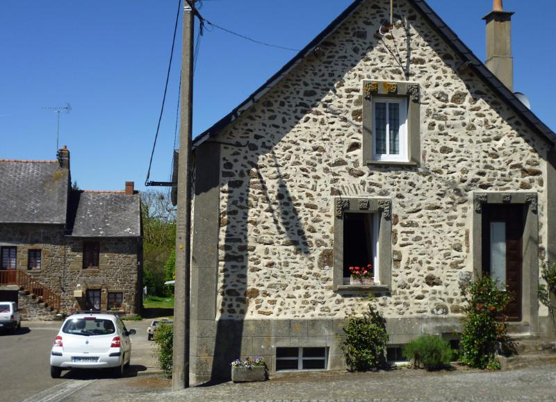 The front of the cottage, in such a lovely friendly village with plenty of parking space!