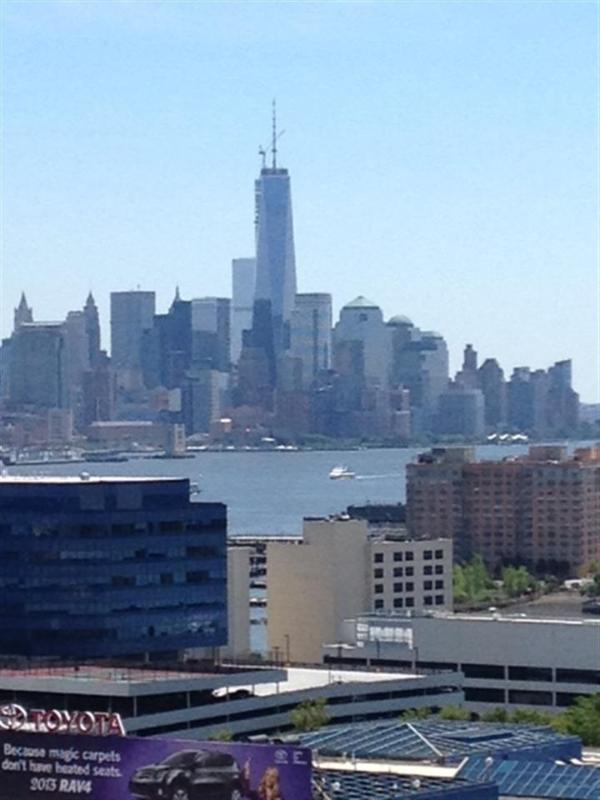 View of Downtown NYC during the day from the living room