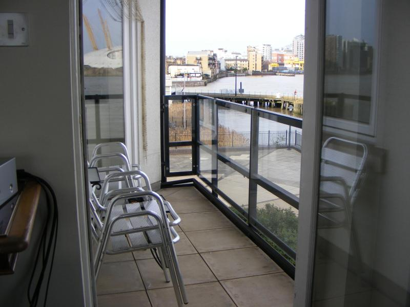 Balcony. With doors from Lounge & Bedroom 1