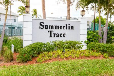 Sign - Summerlin Trace 5-106 - Fort Myers - rentals
