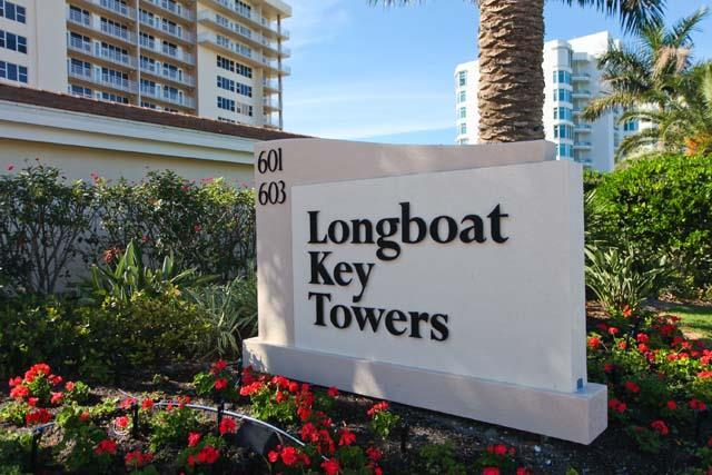 Community Sign - Longboat Key Towers Condo 403N - Longboat Key - rentals