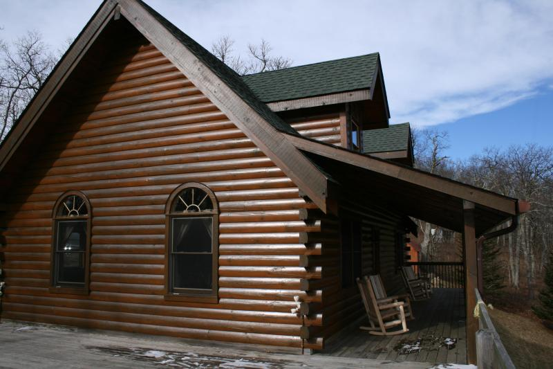 Lateral view of Cabin - View Paradise Cabin in North Caroline - Boone - rentals