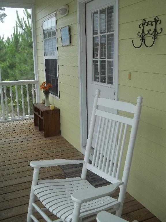 Rocking Chairs on the front porch, a Southern MUST - Beach House in Paradise! - Fort Morgan - rentals