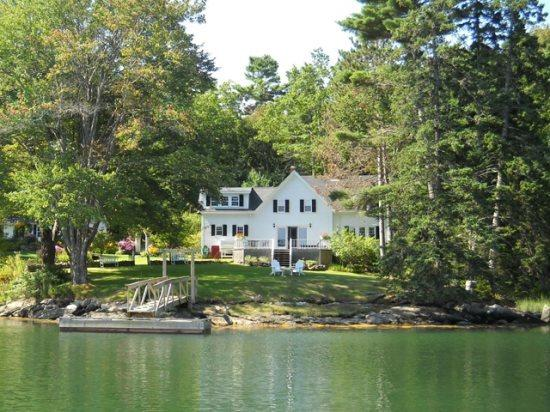 Tidewater Farm on Southport Island in Boothbay Harbor Maine