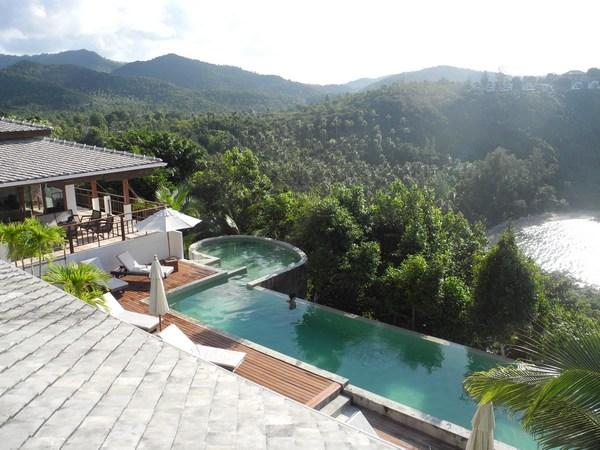 Lord Jim Retreat -  Koh Phangan hills, beach and sea - Villa for rental with private pool