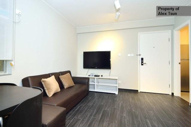 View of the living room with 47' TV, Cable TV and free high speed internet!