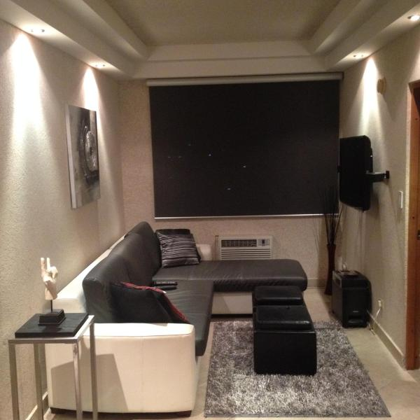 living room with, home theater, Lcd, sofa, etc.
