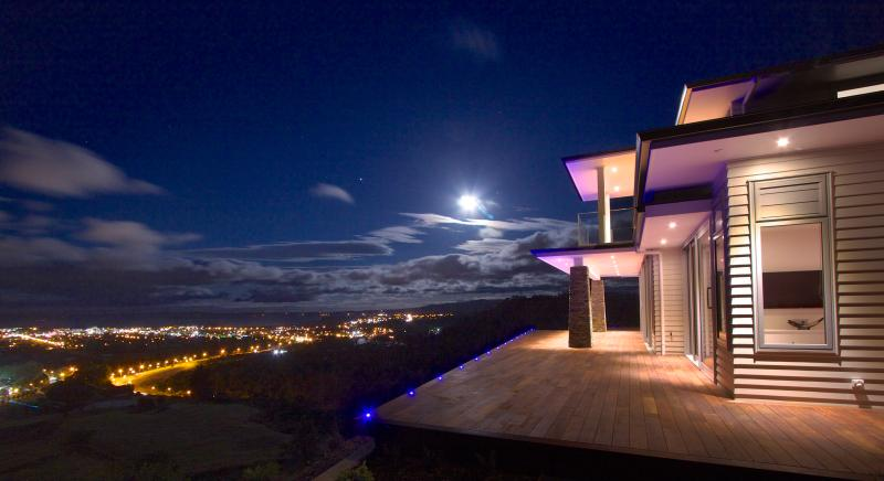 420 metres above sea level with uninterrupted views in every direction