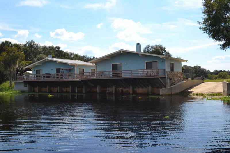 Cabins from River view
