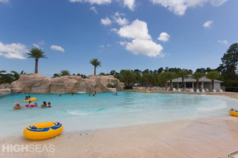 Lazy River at Complimentary Oasis Waterfront Center