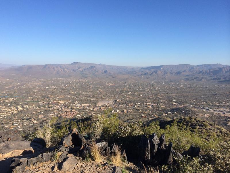 View from top of Black Mtn