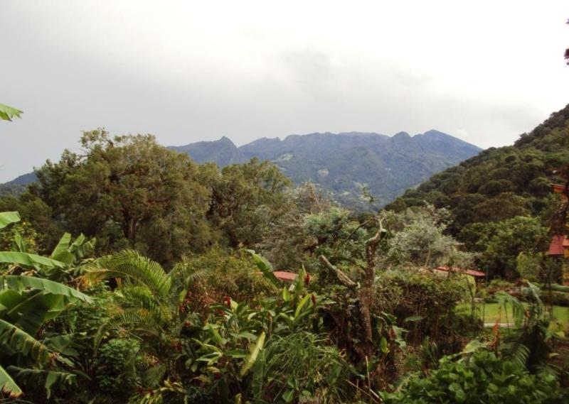 Volcan Baru from your deck