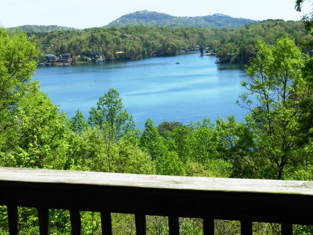 View of Lake Lure from Deck
