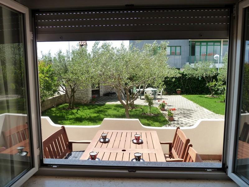 View from the apartment / Garden / BBQ
